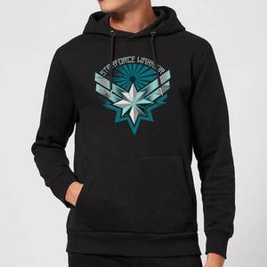 Captain Marvel Starforce Warrior Hoodie - Black