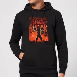 Marvel Universe Wakanda Lightning Hoodie - Black