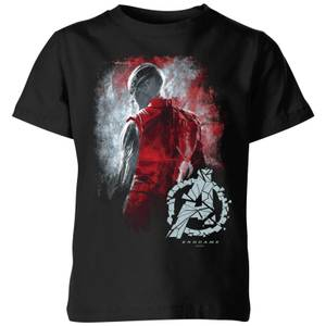 Avengers Endgame Nebula Brushed Kids' T-Shirt - Black