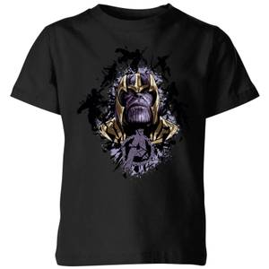 Avengers Endgame Warlord Thanos Kids' T-Shirt - Black