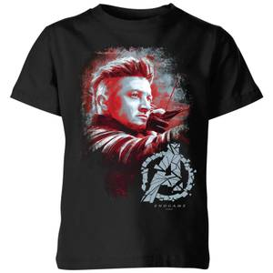T-shirt Avengers Endgame Hawkeye Brushed - Enfant - Noir