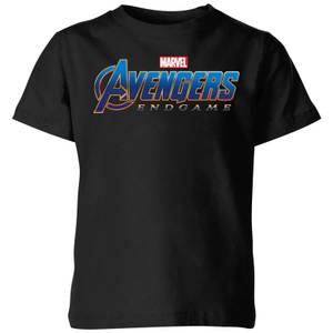 Avengers Endgame Logo Kids' T-Shirt - Black