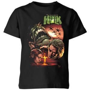 Marvel Incredible Hulk Dead Like Me Kids' T-Shirt - Black