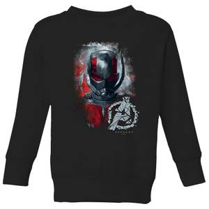 Sweat-shirt Avengers Endgame Ant Man Brushed - Enfant - Noir