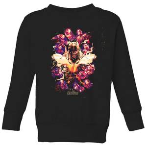 Sweat-shirt Avengers Endgame Splatter - Enfant - Noir