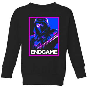 Avengers Endgame Ronin Poster Kids' Sweatshirt - Black