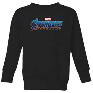 Sweat-shirt Avengers Endgame Logo - Enfant - Noir