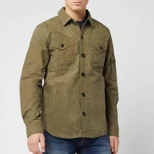 Barbour Men's Beacon Dalby Overshirt - Dusky Green