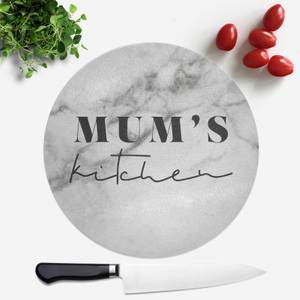 Mum's Kitchen Round Chopping Board