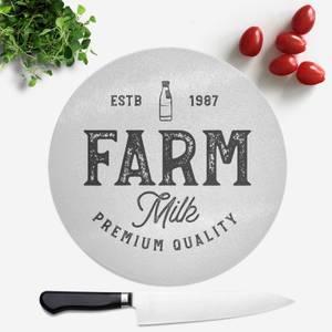 Farm Milk Premium Quality Round Chopping Board