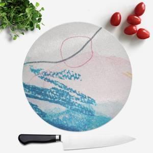 Wish Wash With Circle Round Chopping Board