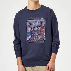 Transformers Decepticons Sweatshirt - Navy