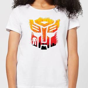 Transformers Autobot Symbol Women's T-Shirt - White