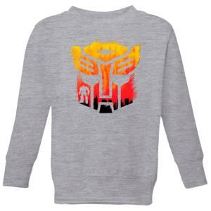 Transformers Autobot Symbol Kids' Sweatshirt - Grey