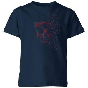 Transformers Autobot Fade Kids' T-Shirt - Navy