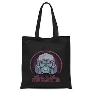 Transformers All Hail Megatron Tote Bag - Black
