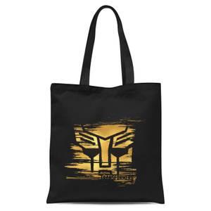 Transformers Gold Autobot Symbol Tote Bag - Black