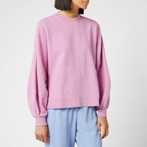 Ganni Women's Isoli Sweatshirt - Moonlight Mauve