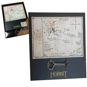 "The Hobbit Thorin's 8 x 10"" Map & Key Replica"