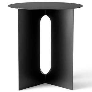 Menu Androgyne Side Table - Steel Base - Black