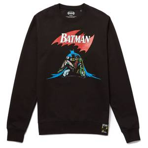 80 ans de Batman - Sweat-shirt Mort - Noir