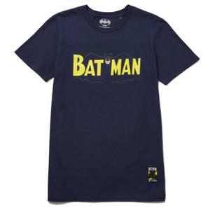 80 ans de Batman - T-shirt Future - années 50 - Bleu marine
