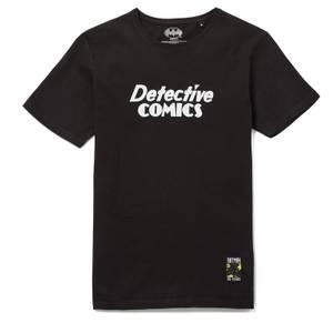 80 ans de Batman - T-shirt Detective Comics - Noir