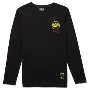 80 ans de Batman - T-shirt à manches longues Batman & Robin - Noir