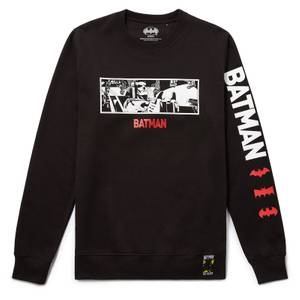 80 ans de Batman - Sweat-shirt Batmobile - Noir