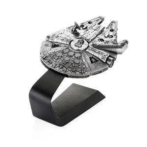 Royal Selangor Star Wars Millennium Falcon Vehicle with Stand 19.5cm - Pewter Replica