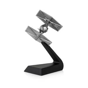 Réplique Chasseur Tie en étain Star Wars - 20cm - Royal Selangor