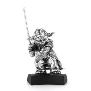 Figurine Yoda en étain Star Wars - 4.5cm - Royal Selangor