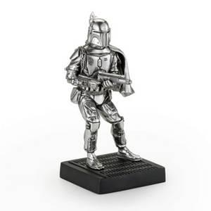 Figurine Boba Fett en étain Star Wars - 7cm - Royal Selangor