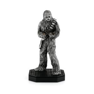 Figurine Chewbacca en étain Édition Limitée Star Wars - 23.5cm - Royal Selangor
