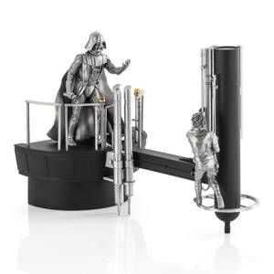 Royal Selangor Star Wars Luke vs. Darth Vader Limited Edition Pewter Diorama 33.5cm (500 Pieces Worldwide)