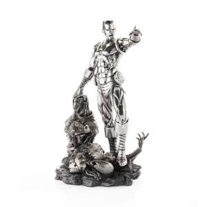 Royal Selangor Marvel Iron Man and Ultron Limited Edition Pewter Figurine 36cm