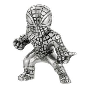 Mini-figurine Spider-Man en étain Marvel - 5cm - Royal Selangor