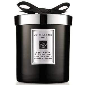 Jo Malone London Cologne Intense Dark Amber and Ginger Lily Home Candle 200g