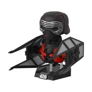 Figurine Pop! Deluxe Supreme Leader Kylo Ren En Tie Whisper - Star Wars : L'ascension De Skywalker