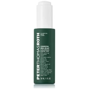 Peter Thomas Roth Green Releaf Calming Face Oil 30ml