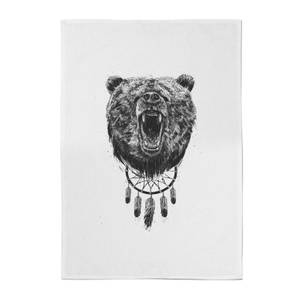 Dreamcatcher Bear Cotton Tea Towel