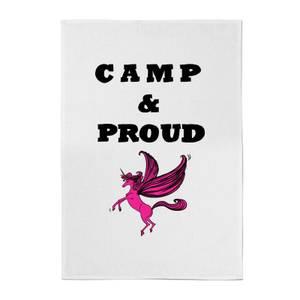 Rock On Ruby Camp & Proud Cotton Tea Towel
