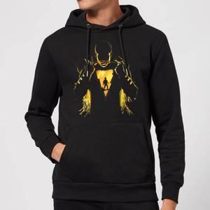 Shazam Lightning Silhouette Hoodie - Black