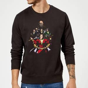 Shazam Team Up Sweatshirt - Black