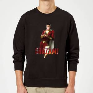 Shazam Bubble Gum Sweatshirt - Black