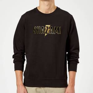 Shazam Gold Logo Sweatshirt - Black