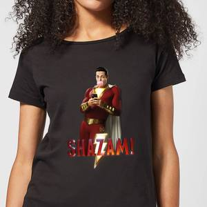 Shazam Bubble Gum Women's T-Shirt - Black