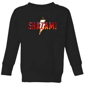 Shazam Logo Kids' Sweatshirt - Black