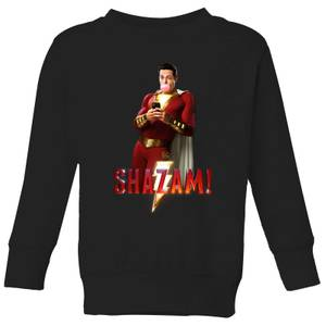 Shazam Bubble Gum Kids' Sweatshirt - Black