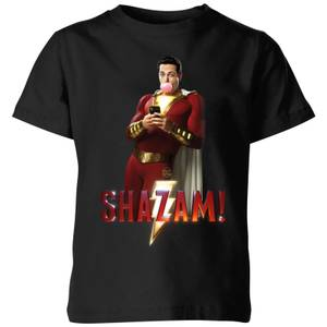 Shazam Bubble Gum Kids' T-Shirt - Black
